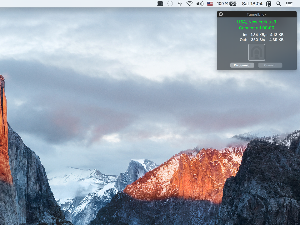 Setting up OpenVPN on Mac OS X, step 9
