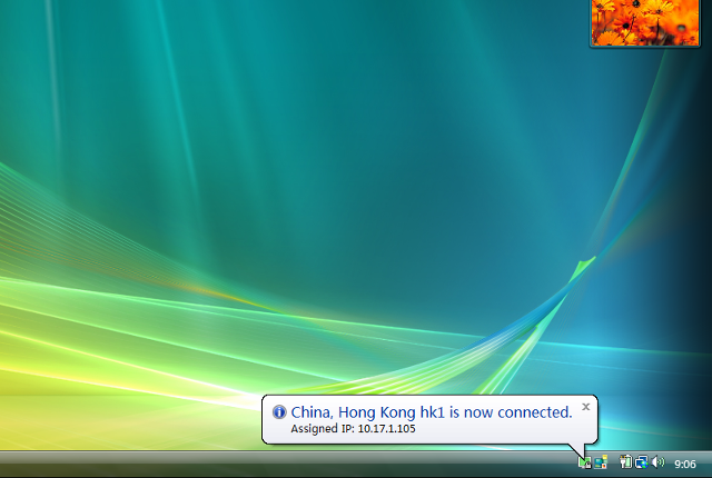Setting up OpenVPN on Windows Vista, step 17
