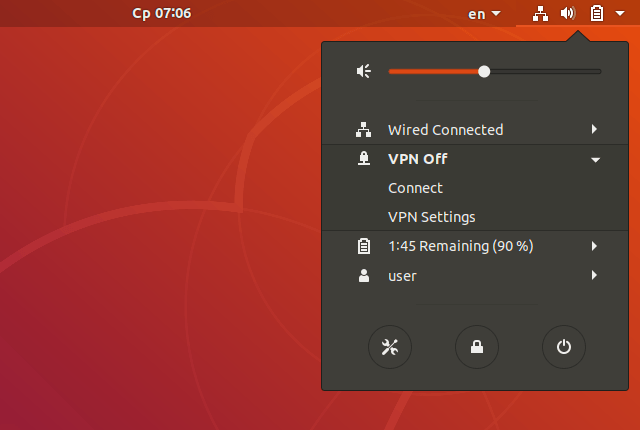 Setting up IKEv2 VPN on Linux Ubuntu 18.04, step 9